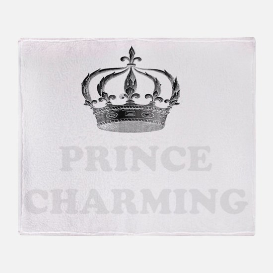 Prince Charming Throw Blanket