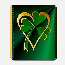 I Love St. Patricks Mousepad