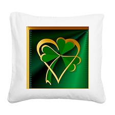 SHOWER CRTAINI Love St Square Canvas Pillow