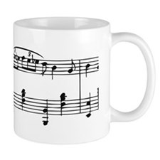 Music Sheet Small Mug