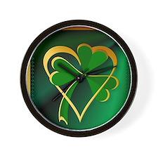 I Love St. Patricks Wall Clock