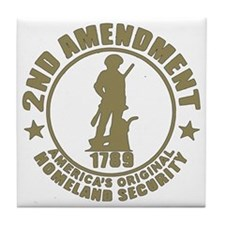 Minutemen, the Original Homesland Sec Tile Coaster