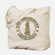 Minutemen, the Original Homesland Securit Tote Bag