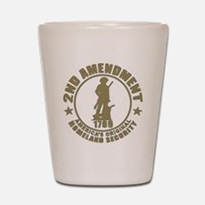 Minutemen, the Original Homesland Secur Shot Glass