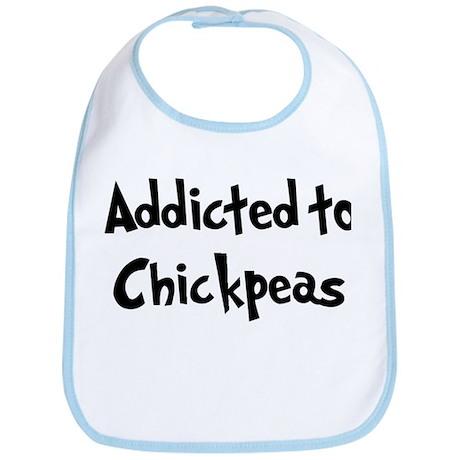 Addicted to Chickpeas Bib