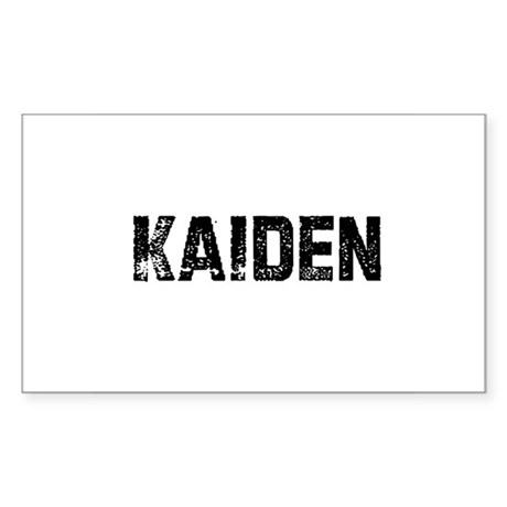 Kaiden Rectangle Sticker