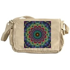 Inward Flower Messenger Bag