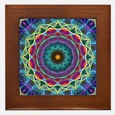 Inward Flower Framed Tile