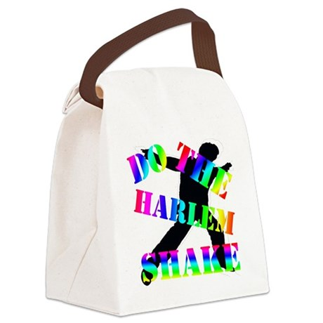 Harlem Shake Canvas Lunch Bag