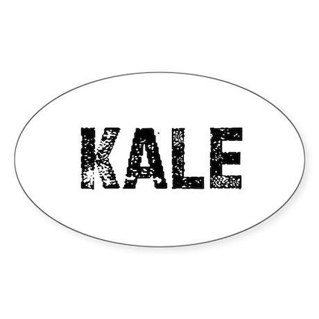 Kale Oval Sticker