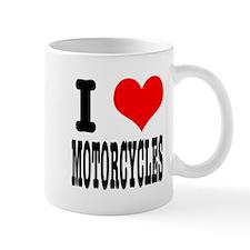 I Heart (Love) Motorcycles Mug