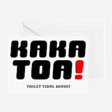 KAKATOA Greeting Card
