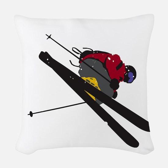 Big Air Woven Throw Pillow