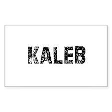 Kaleb Rectangle Decal