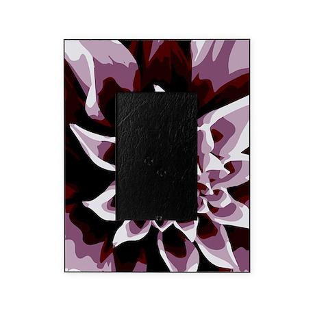 Deep Purple Flower Picture Frame