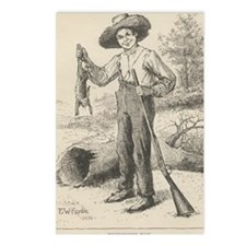 Huckleberry Finn Postcards (Package of 8)