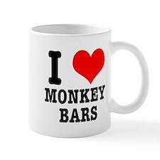 I Heart (Love) Monkey Bars Mug