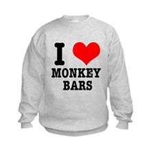 I Heart (Love) Monkey Bars Sweatshirt