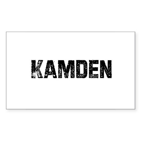 Kamden Rectangle Sticker