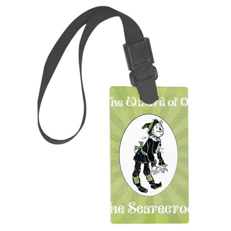 Wizard of Oz Scarecrow Large Luggage Tag