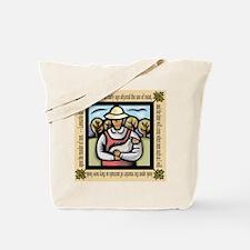 Vegetarian da Vinci Quote Tote Bag