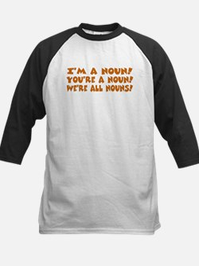 I'm a Noun! Kids Baseball Jersey