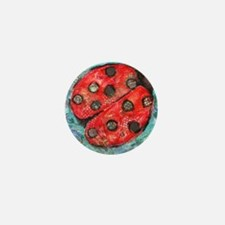 Lady Bug Mini Button