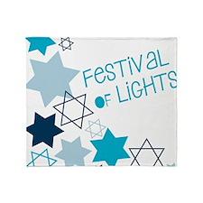 Festival Of Lights Throw Blanket