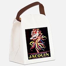 Vintage French Cappiello Bon Bon Canvas Lunch Bag