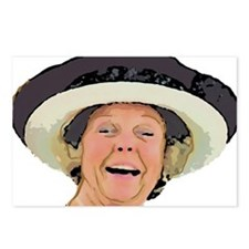 Laughing Queen Beatrix Postcards (Package of 8)