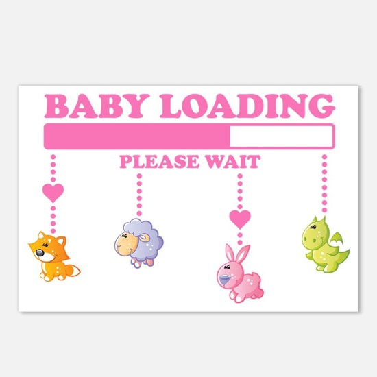 Baby Toys Postcards (Package of 8)