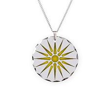 Macedonia Vergina Star Necklace