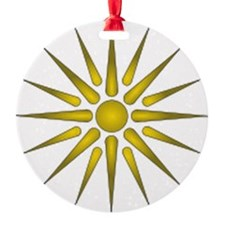 Macedonia Vergina Star Ornament