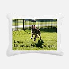 Live like a Picard Rectangular Canvas Pillow