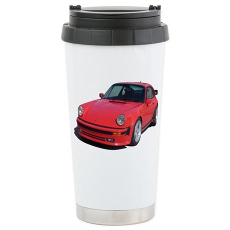 911 Turbo Zipped Hoodie Stainless Steel Travel Mug