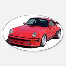911 Turbo Zipped Hoodie Decal