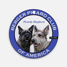 Current Logo Round Ornament
