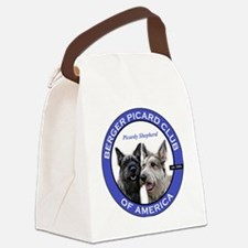 Current Logo Canvas Lunch Bag