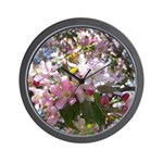 Flowering Cherry Tree Wall Clock