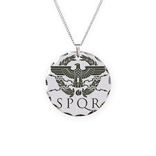 Roman Empire SPQR Necklace