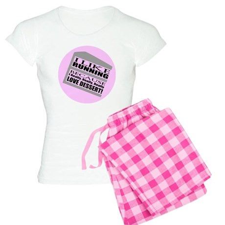 Running I Love Dessert Women's Light Pajamas