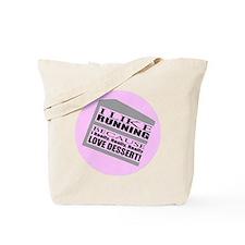 Running I Love Dessert Tote Bag