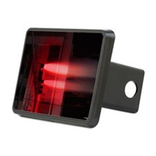 Red Lights Exploding Hitch Cover