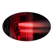 Red Lights Exploding Decal