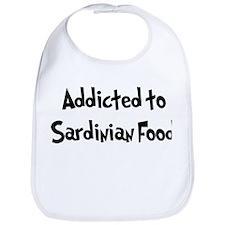 Addicted to Sardinian Food Bib