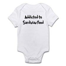 Addicted to Sardinian Food Infant Bodysuit