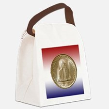 1925 Lexington-Concord Half Dolla Canvas Lunch Bag