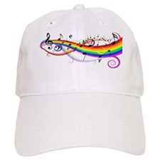 Bright Musical Shirt Baseball Cap
