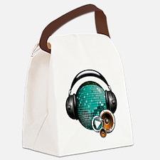 Press Play - Music Festival Shirt Canvas Lunch Bag