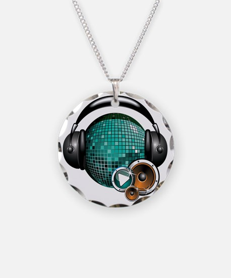 Press Play - Music Festival  Necklace
